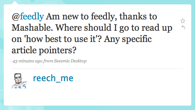 How to best use feedly