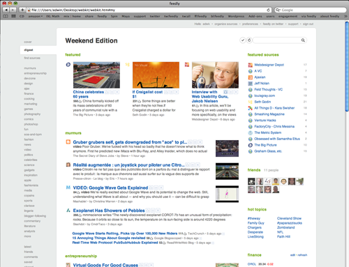 Feedly for Safari - Experimental