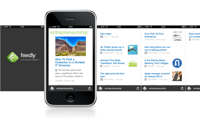 Feedly for iphone - prototype 8