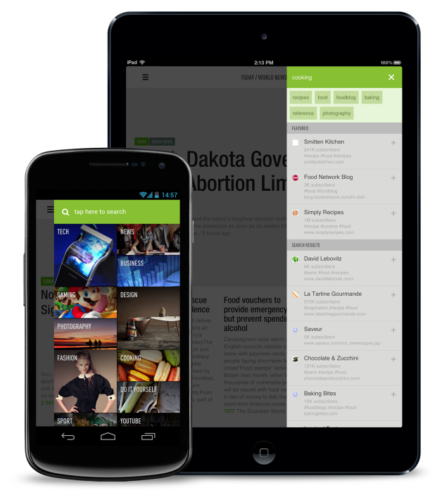 Feedly New Search