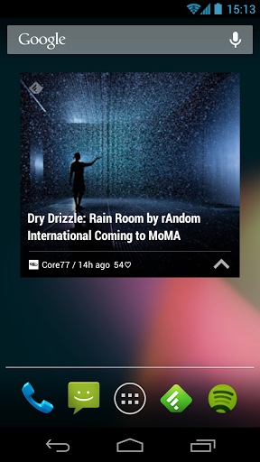 core77 android widget