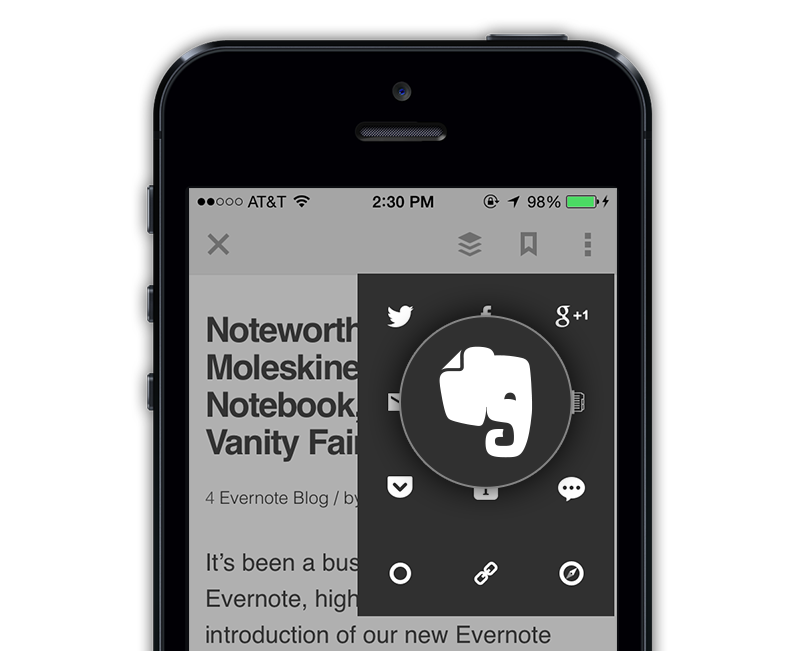 Evernote + feedly is now on mobile [Pro]
