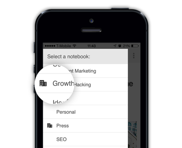 Evernote Mobile