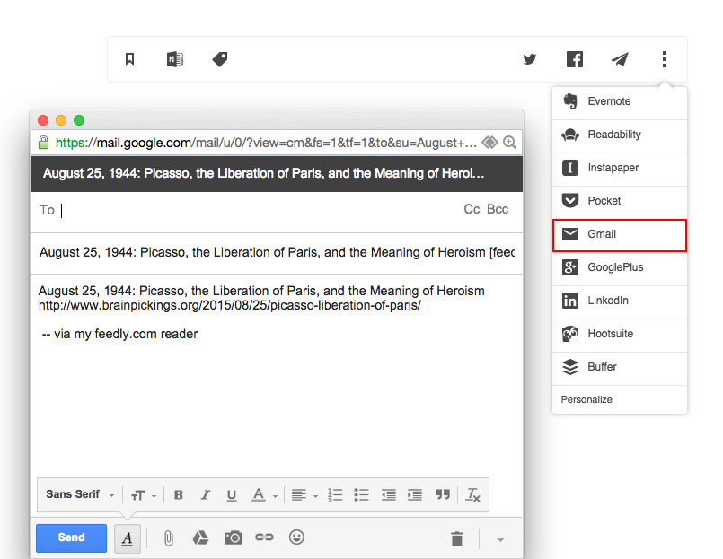 how to send a word document through gmail