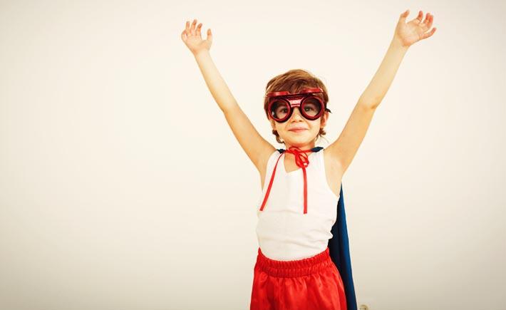 child-superhero